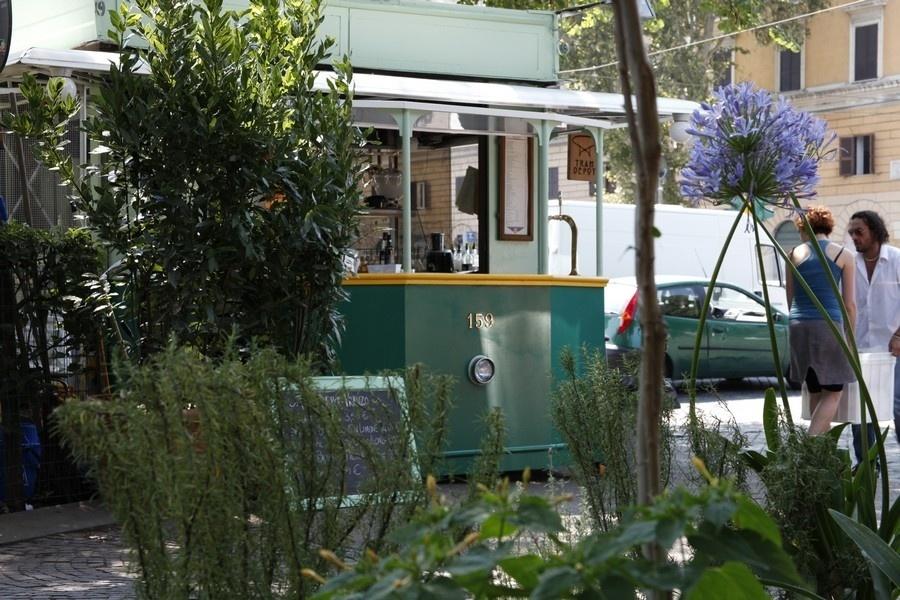 Tram Depot, no bairro de Testaccio, é a nova atração da gastronomia low cost romana