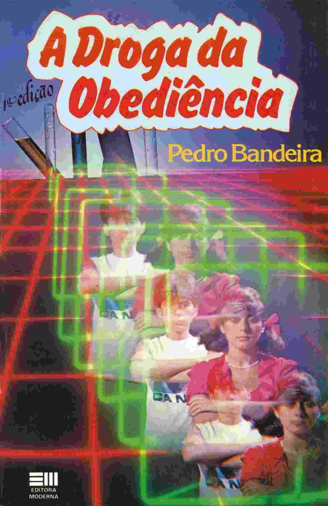 """Capa do livro """"A Droga da Obediência"""" (1984), de Pedro Bandeira - Reprodução"""