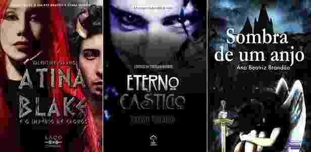 Alguns lançamentos de literatura fantástica na Bienal de São Paulo de 2014 - Montagem UOL/Reprodução - Montagem UOL/Reprodução