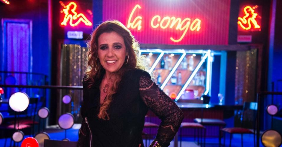 Rita Cadillac em participação especial no programa