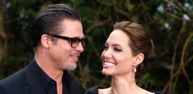 Brad Pitt e Angelina Jolie: atriz deu entrada no divórcio após incidente - Luke MacGregor/Reuters