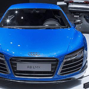 Audi R8 LMX no Salão de Moscou 2014 - Danil Kolodin/Newspress
