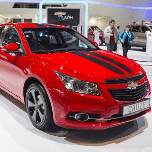 Chevrolet Cruze no Salão de Moscou 2014 - Danil Kolodin/Newspress