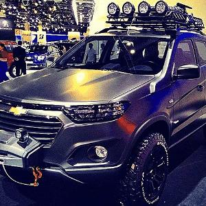 Chevrolet Niva Concept no Salão de Moscou 2014 - Divulgação