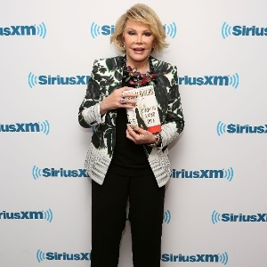 Comediante Joan Rivers