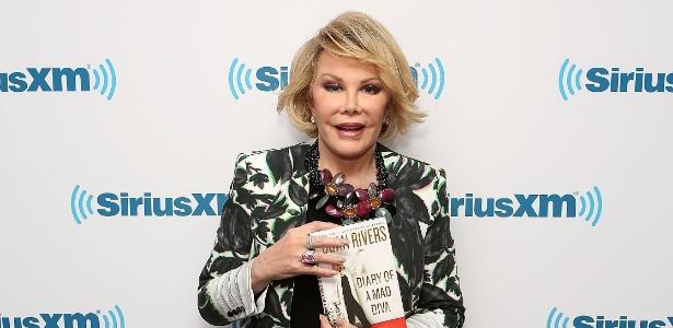 Joan Rivers em um evento em Nova York no dia 30 de junho