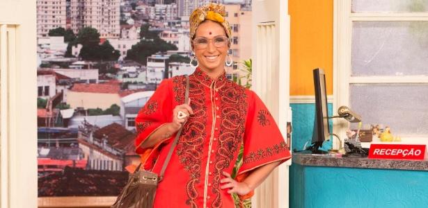"""Valesca Popozuda é a filósofa Valeievski em episódio da série """"Vai Que Cola"""""""