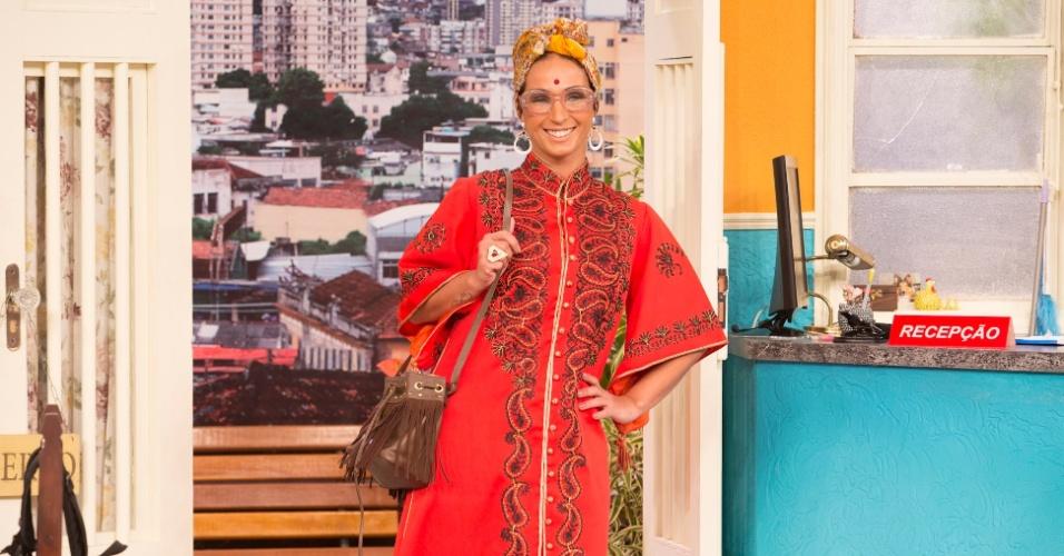 29.ago.2014 - Valesca Popozuda é a filósofa Valeievski em episódio da série