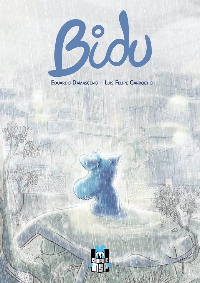 """Imagem promocional de """"Bidu - Caminhos"""" divulgada antes de a graphic novel ser lançada."""