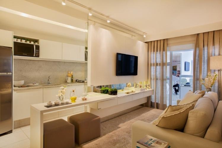 Sem ideias para decorar veja livings compactos e for Decorar casa 3d online