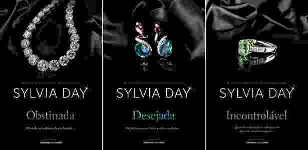 Os livros de Sylvia Day lançados na Bienal Internacional de São Paulo - Divulgação - Divulgação