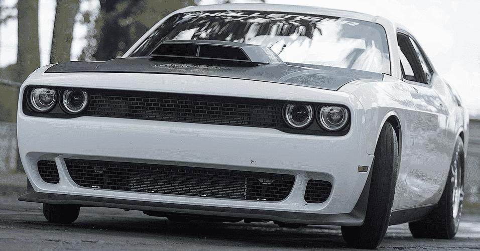 Dodge Challenger Mopar Drag Pak Concept - Divulgação