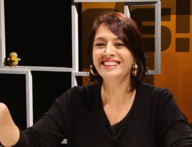 """Cátia Fonseca (Gazeta) é uma das campeãs de """"merchans"""" na TV - Reprodução"""