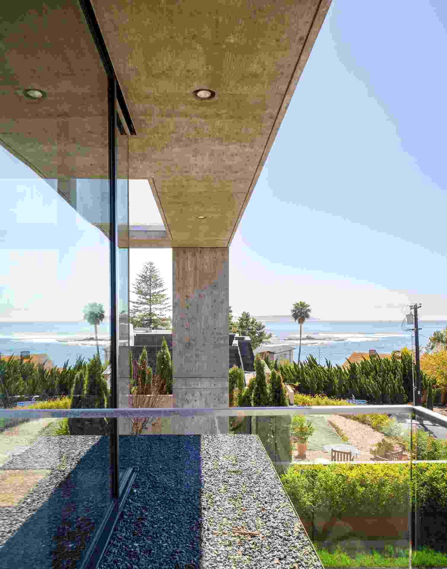 Casa de concreto na Califórnia (Imagem do NYT, usar apenas no respectivo material) - Trevor Tondro/ The New York Times