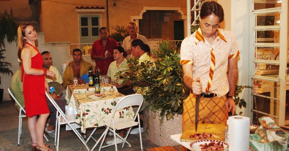 """2007 - Pedro Cardoso  em cena de """"A Grande Família"""""""