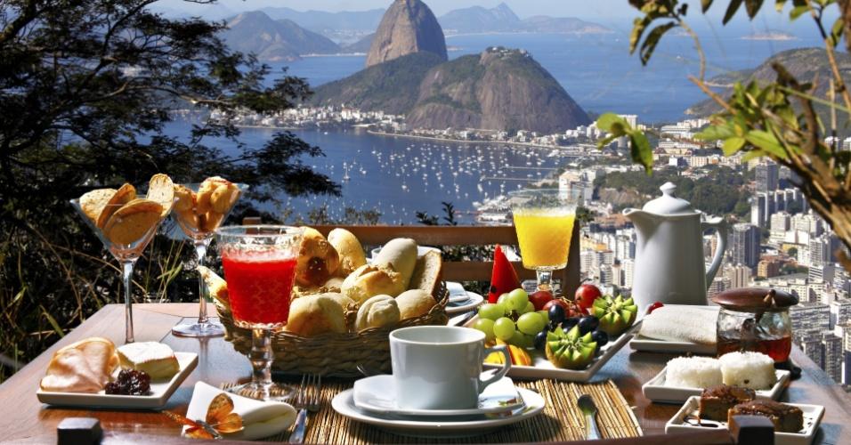 Cafés da manhã pelo mundo