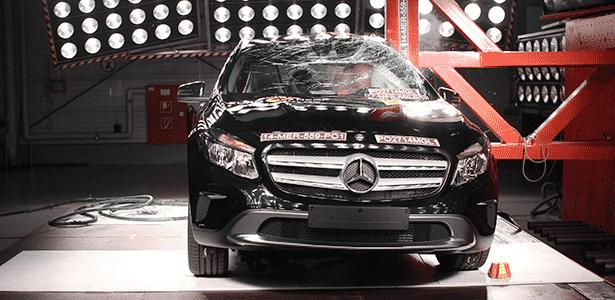 GLA, cinco estrelas no Euro NCAP, será lançado no Brasil ainda em setembro - Divulgação