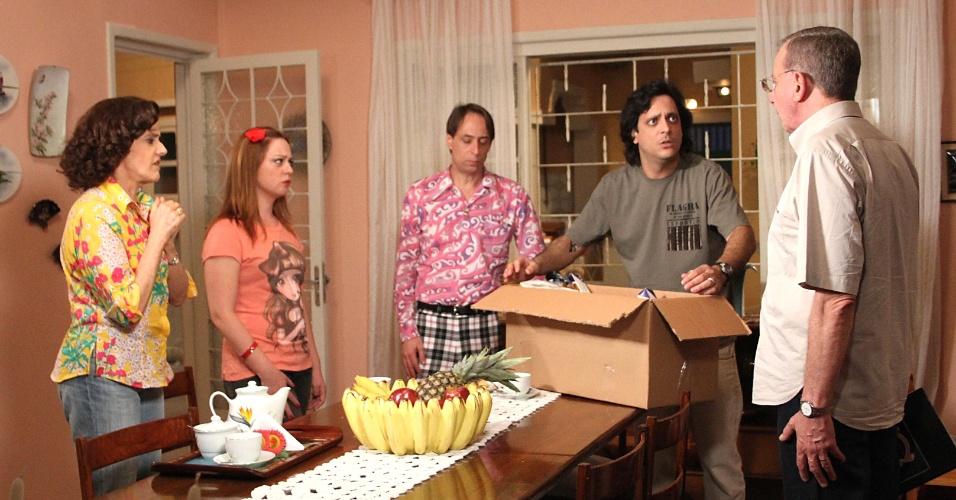"""Pedro Cardoso em cena de """"A Grande Família"""""""