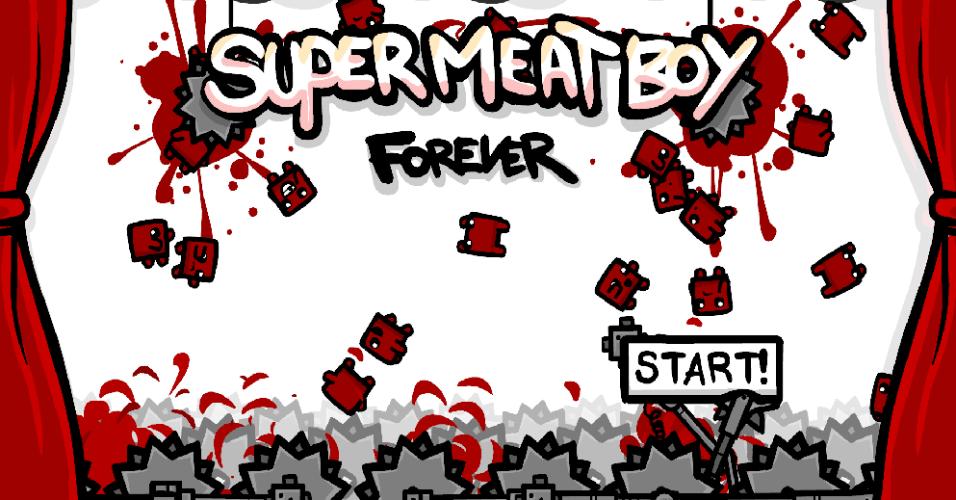 """""""Super Meat Boy Forever"""" é uma competente reinvenção compacta do dificílimo game de aventura de 2010"""
