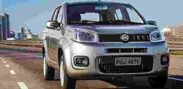 Fiat Uno 2015 Attractive 1.0 - Divulgação - Divulgação