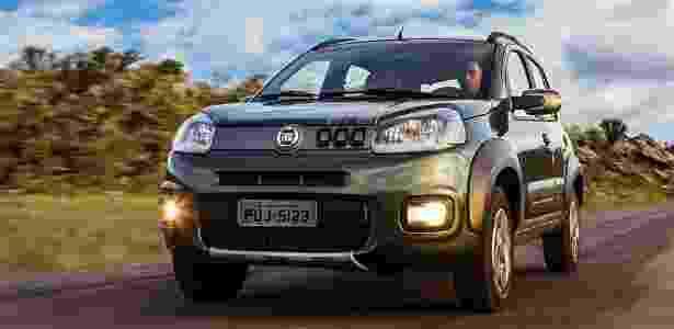 Fiat Uno 2015 Way 1.0 - Divulgação - Divulgação