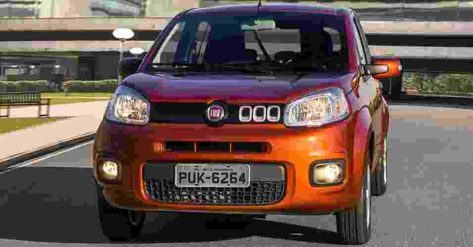 Fiat Uno Evolution 2015 - Divulgação