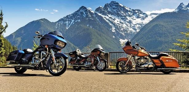 Road Glide, touring para pilotos mais baixos e um novo triciclo são novidades - Divulgação