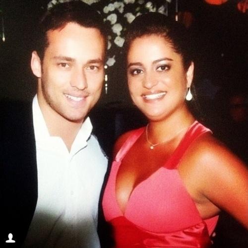 """5.set.2014 - O ator Rodrigo Andrade homenageia a irmã Tatiana em foto postada no Instagram no Dia do Irmão. """"Eu perturbo, brinco, brigo, me divirto e cobro ela mais do que qualquer outra pessoa"""""""
