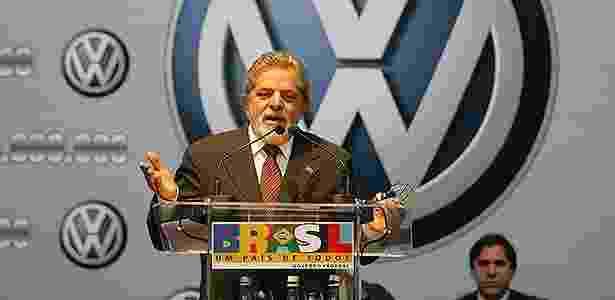 Lula presidente e Volkswagen - Luiz Carlos Murauskas/Folha - Luiz Carlos Murauskas/Folha