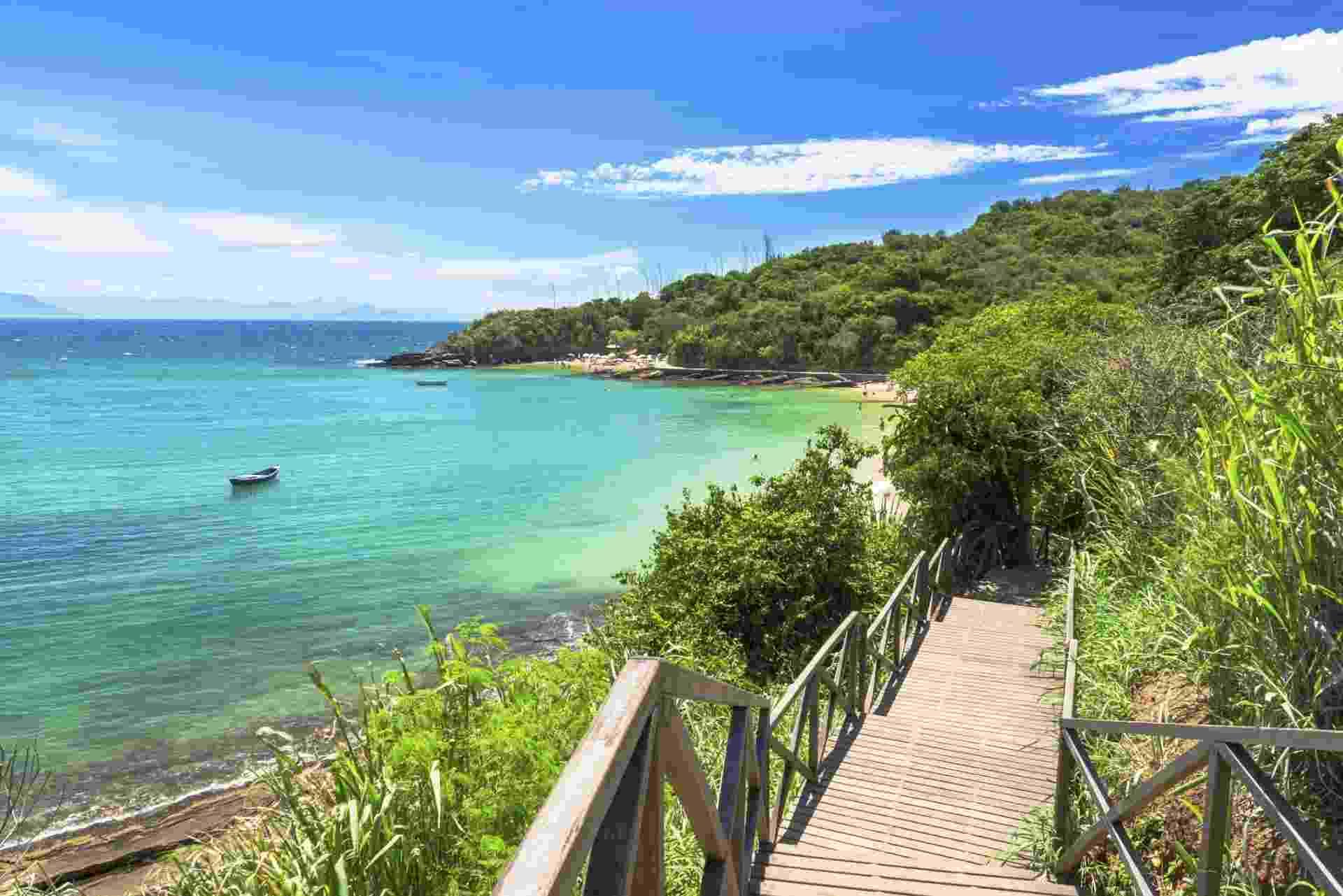 Praia Azeda, em Búzios (RJ) - Getty Images