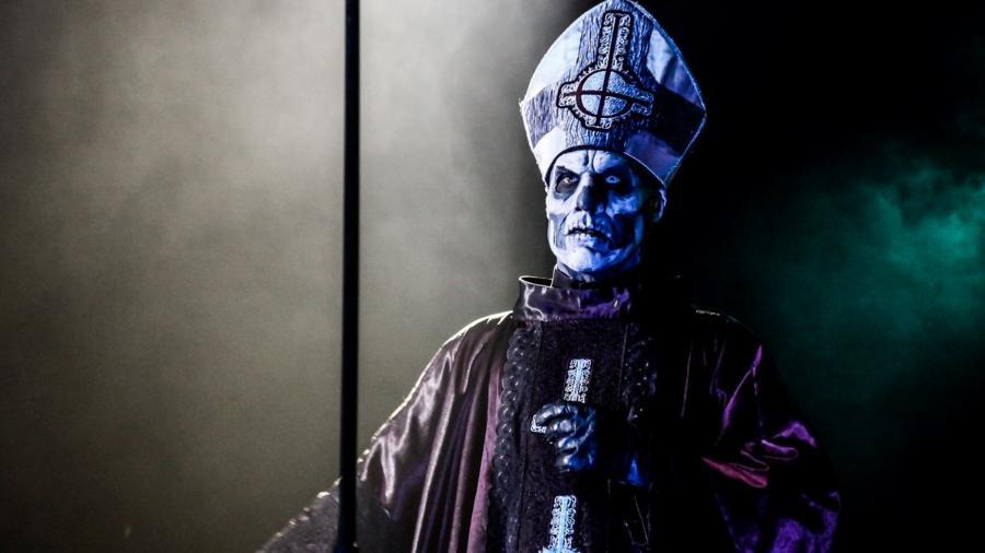 Banda sueca de heavy metal, Ghost se apresenta em São Paulo em 2014 - Manuela Scarpa/Photo Rio News