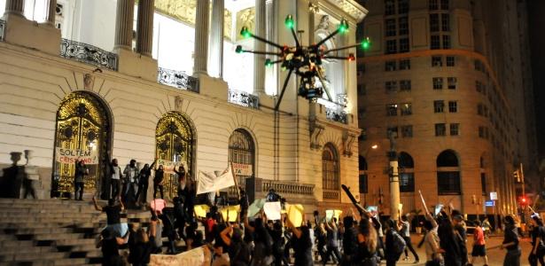 """Drone é usado para captação de imagens que serão mostradas em """"Plano Alto"""", nova minissérie da Record"""