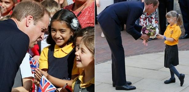 Príncipe William em evento na Universidade de Oxford, na Inglaterra