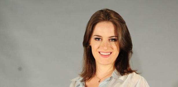 A atriz Alessandra Maestrini
