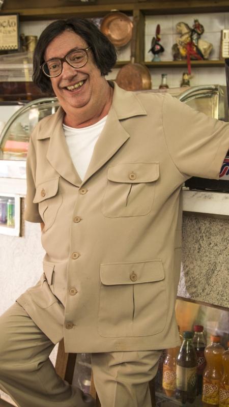 Marcos Oliveira como Beiçola, seu personagem mais famoso - Divulgação/TV Globo