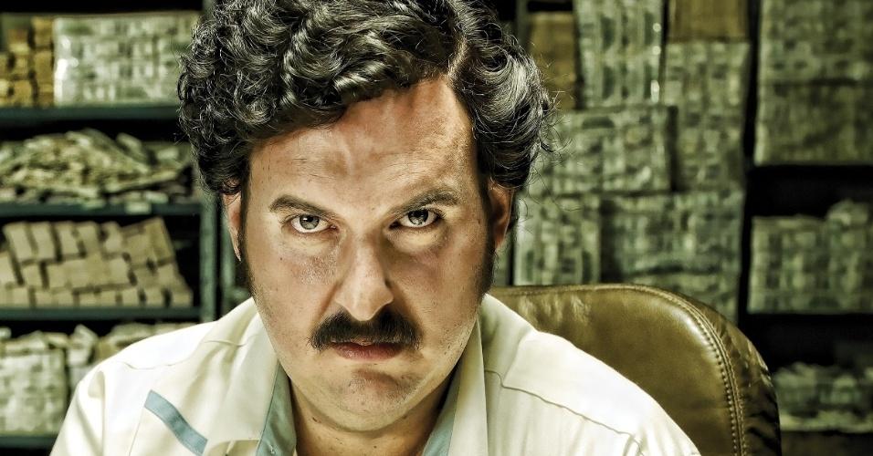 """Andrés Parra é o protagonista da série """"Pablo Escobar"""""""
