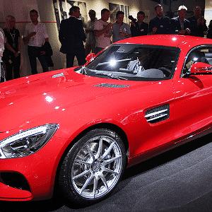 Mercedes-Benz AMG GT - Daniel Roland/AFP