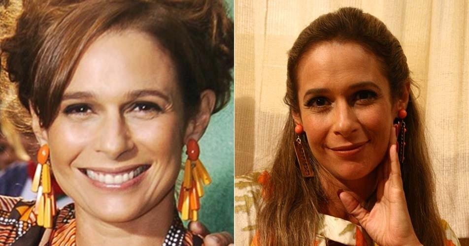 Andréa Beltrão, que fez a melhor amiga de Nenê (Marieta Severo), entrou na série no segundo ano