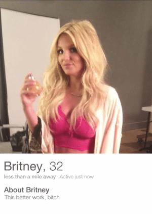 Solteira, Britney ganha perfil no Tinder