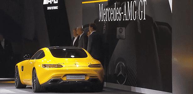Mercedes-Benz AMG GT S traseira 34 - Reprodução - Reprodução