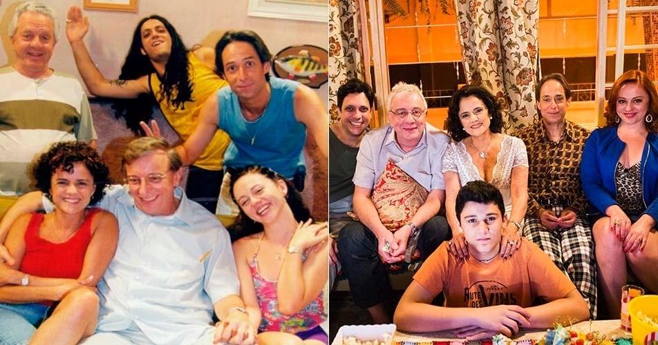 """Mudanças dos personagens de """"A Grande Família"""" ao longo dos 14 anos de série"""