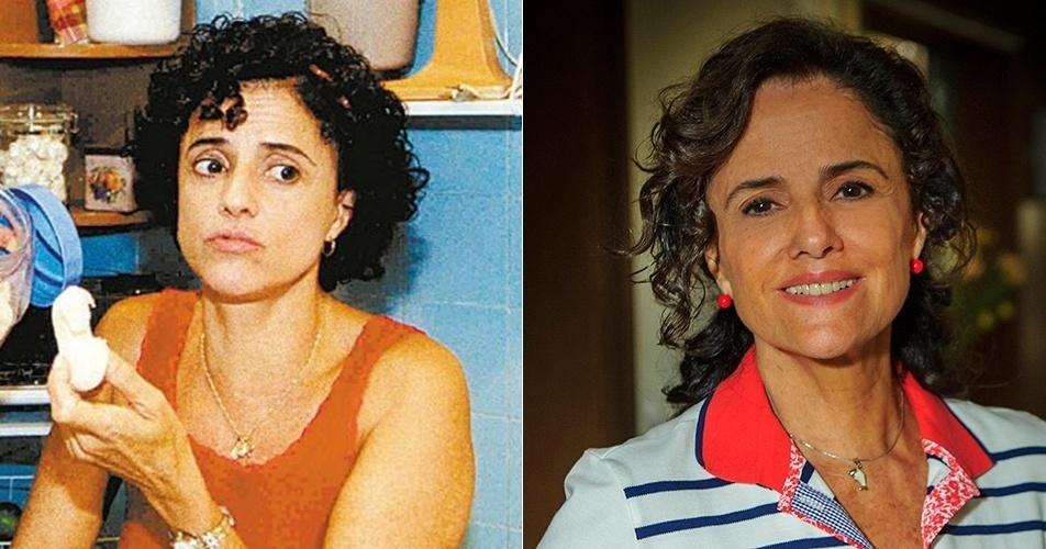 Nenê (Marieta Severo) faz o papel de conciliadora entre o marido, Lineu (Marco Nanini), e o restante da família