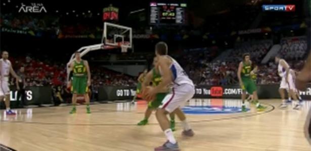 SporTV transmite Brasil e Sérvia no Mundial de basquete da Espanha