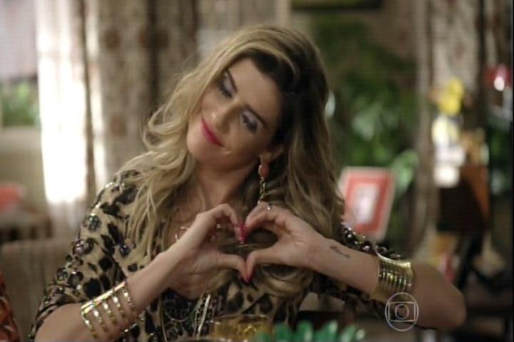 """11.set.2014 - Deborah Secco interpreta a Bebel no último episódio de """"A Grande Família"""""""
