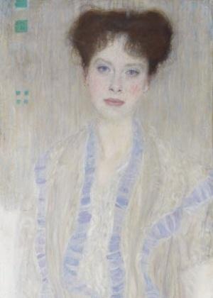 O quadro Bildnis Getrud Loew, do pintor Gustav Klimt - Divulgação