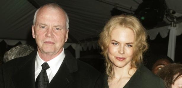 A atriz Nicole Kidman e seu pai, Antony Kidman