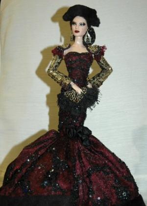 Boneca Barbie vestida com roupa de inspiração espanhola - Inma tapia/EFE