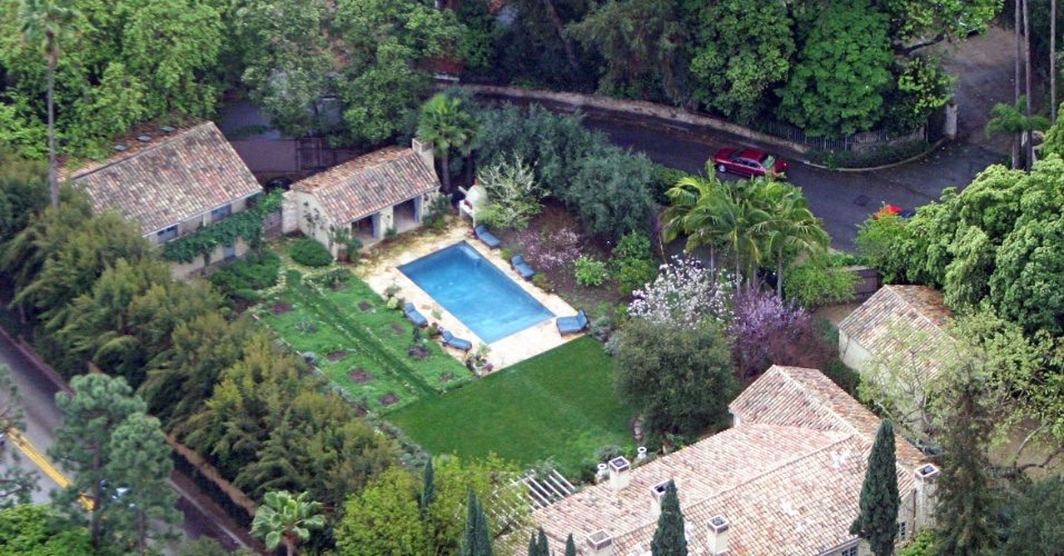 Casa de Jennifer Lopez e Marc Anthony na Califórnia