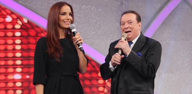 """Ivete Sangalo participa da final do quadro """"Mulheres que brilham"""" no """"Programa Raul Gil"""""""