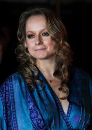 A atriz britânica Samantha Morton